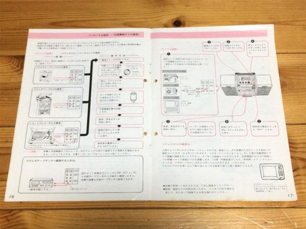 日立パディスコ9050 (TRK-9050)の取扱説明書の中身その4