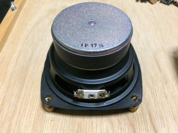 ビクター PS-S10Bを分解、ウーファーの画像その2
