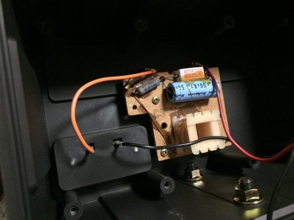 ダイヤトーン DS-105系:BMB CS-M10Vのインピーダンス補正回路