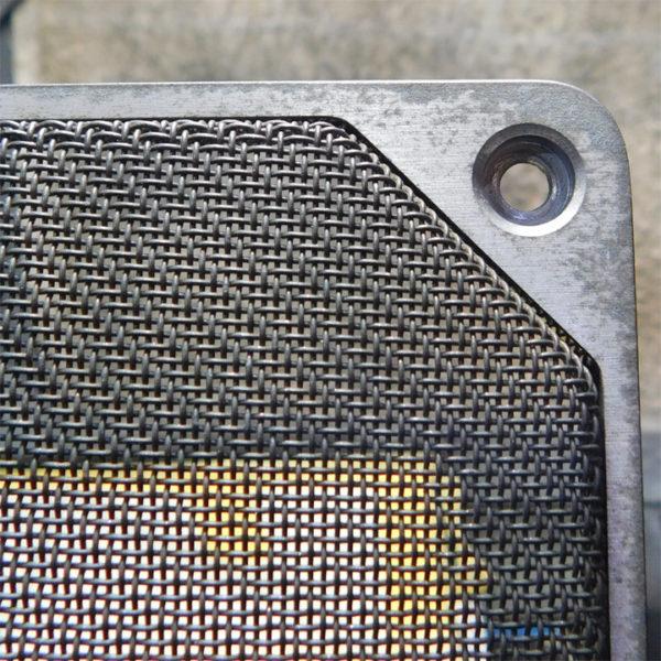 ビクター・S-M5(S-M3)の前面ネット(研磨前)