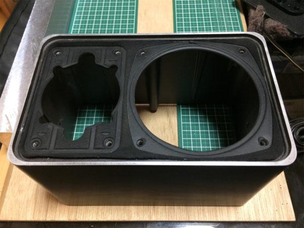 フォステックス・GX10の画像、エンクロージャーの画像その1