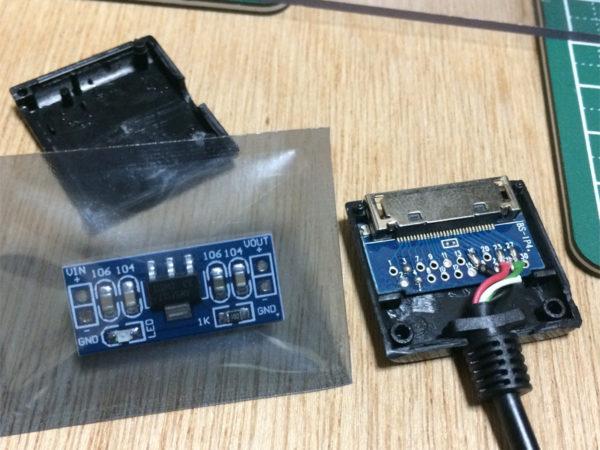 タスカムiM2の画像、USBアダプタ作成の画像その2