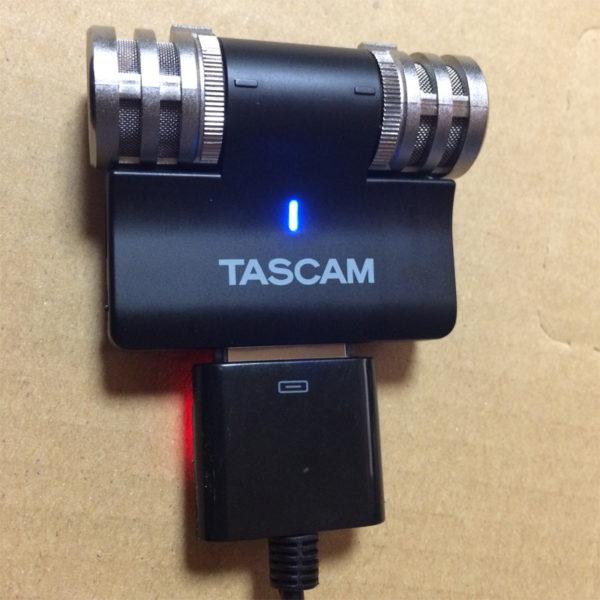 タスカムiM2の画像、USBアダプタを作成、完成その1