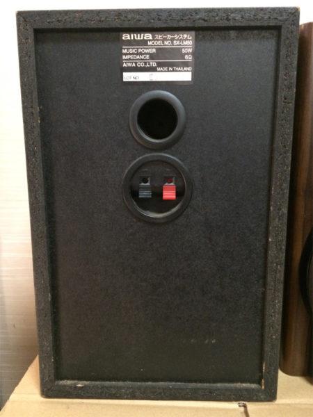 アイワ SX-LM50の背面画像
