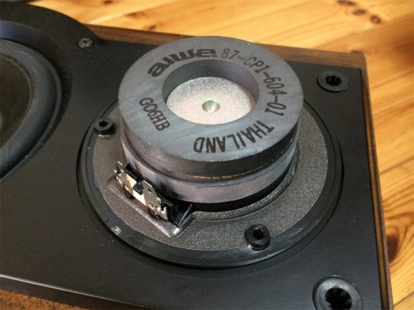 アイワ SX-LM50のツイーターの画像その3