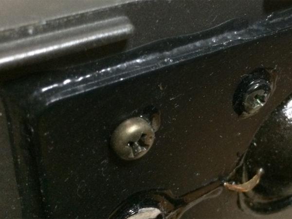 ビクター・S-M5/S-M3の画像(ツイーターの取り付け部分拡大)