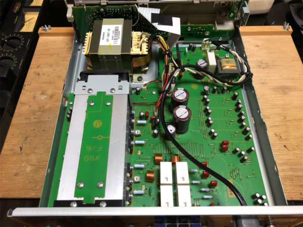KENWOOD M-AX-D7-N、内部の画像その1