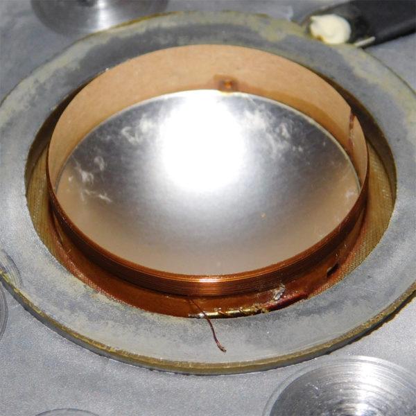 断線修理中のLo-D HS-33D/HS-11Dのツイーター