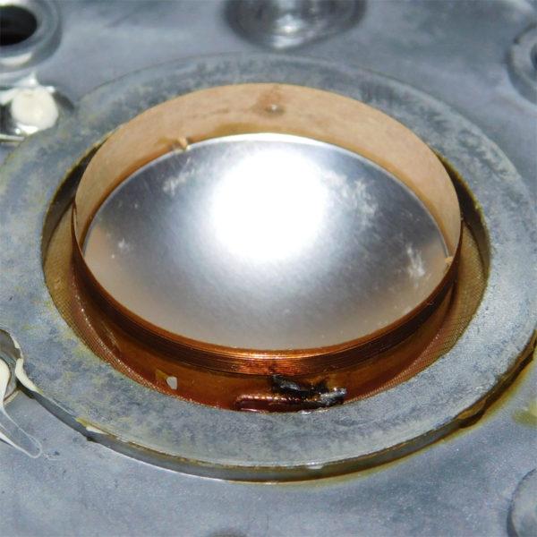 Lo-D HS-11D(HS-33D)、ハードドームツイーター断線修理その7