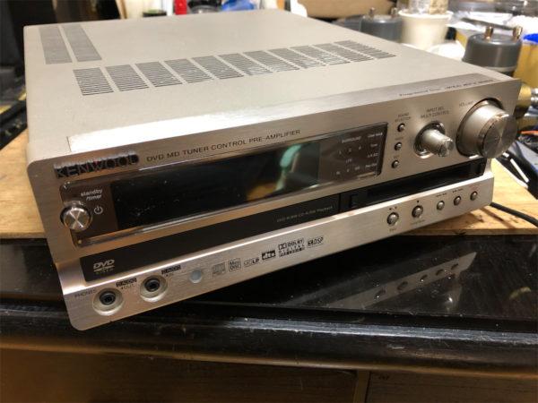 KENWOOD AX-D7-S、DVDレシーバープリC-AX-D7-N
