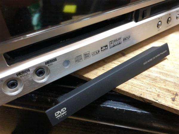 KENWOOD C-AX-D7-N、DVDプレーヤーのトレイパーツ