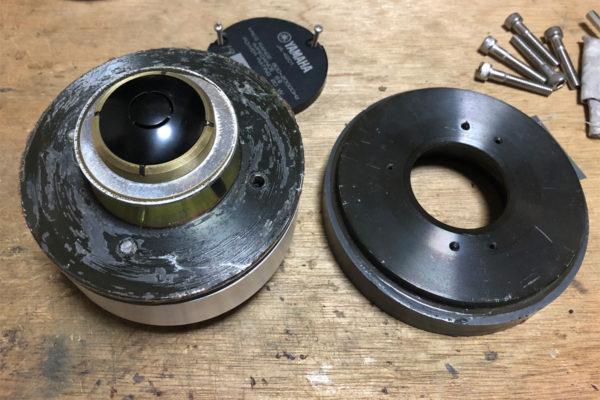 ヤマハのコンプレッションドライバーJA-4201分解