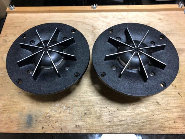 パイオニア CS-610のドームスコーカーの組み立て・その3