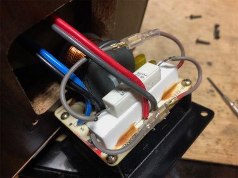 KENWOOD LS-1001(LS-300G)のネットワーク追加抵抗の接続