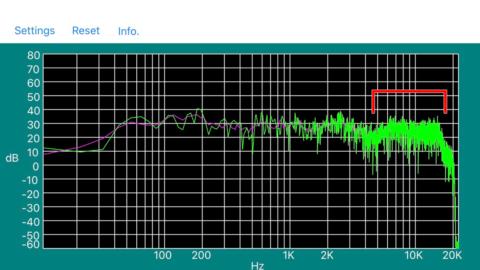KENWOOD LS-1001(LS-300G)の周波数特性・並列抵抗追加