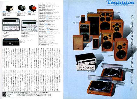 テクニクス広告1971年