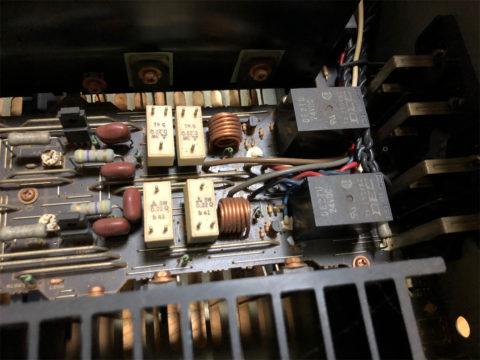YAMAHA AX-1200のスピーカーリレー