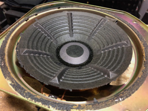 TRIO/トリオ LS-10の自作エッジ制作・古いエッジの取り除き1
