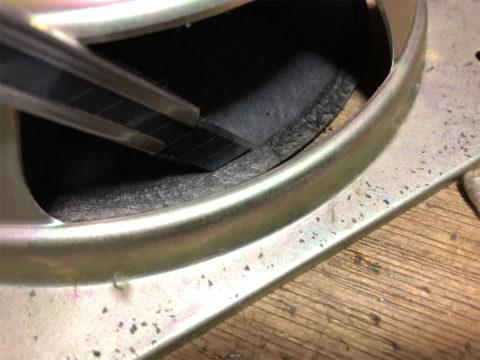 TRIO/トリオ LS-10の自作エッジ制作・古いエッジの取り除き3