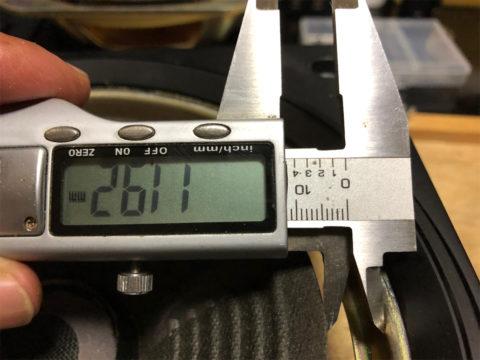 TRIO/トリオ LS-10の自作エッジ制作・自作エッジのための採寸