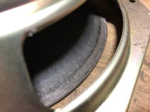 TRIO/トリオ LS-10の自作エッジ制作・古いエッジの取り除き7