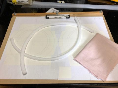 TRIO/トリオ LS-10の自作エッジ制作・自作エッジのための材料をスタンバイ