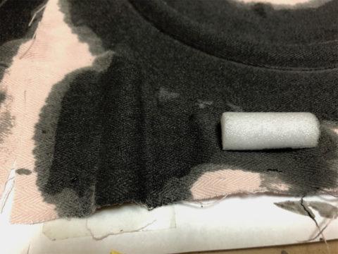 TRIO/トリオ LS-10の自作エッジ制作・自作エッジ、乾燥したエッジの硬さチェック