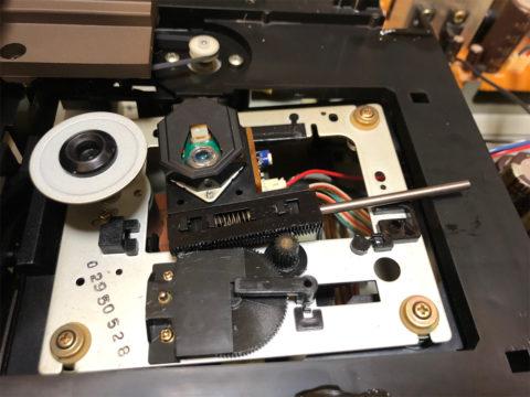 DENON DCD-1650ALのピックアップ交換・ピックアップ取り外しその2