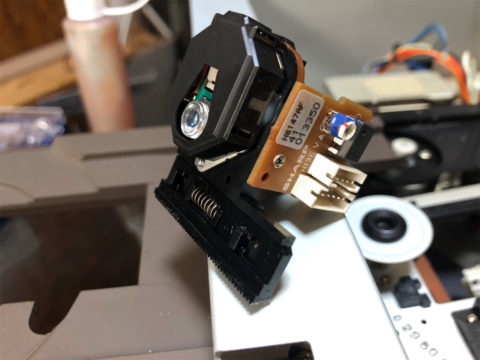 DENON DCD-1650ALのシャープ製ピックアップ・H8147AF