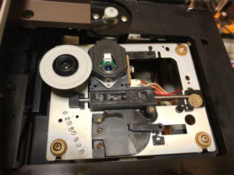 DENON DCD-1650ALのピックアップ交換・新ピックアップ取りつけ