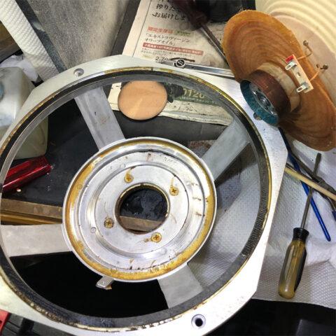 TRIO/トリオ LS-77、コーンの取り外し2