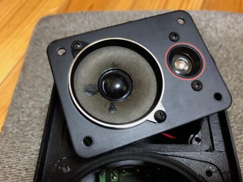 Audio Technica AT-SP50aのツイーター&スーパーツイターその1