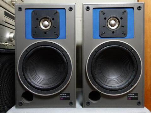 SONY/ソニー SS-R1、アコースティックレンズ(音響レンズ)を外してみた