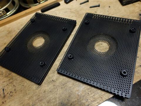 SONY/ソニー SS-R1、アコースティックレンズ(音響レンズ)の塗装の仕上がり
