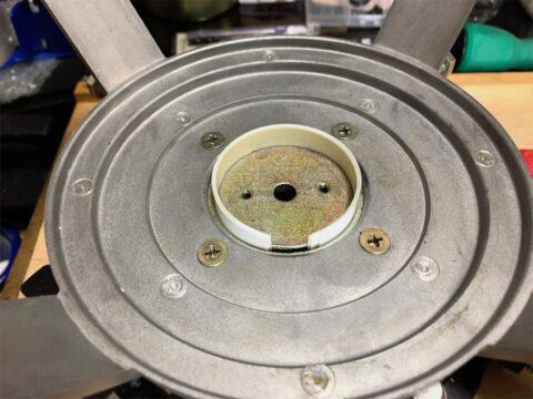 TRIO/トリオ LS-77、磁気ユニット接着です、ギャップスペーサー