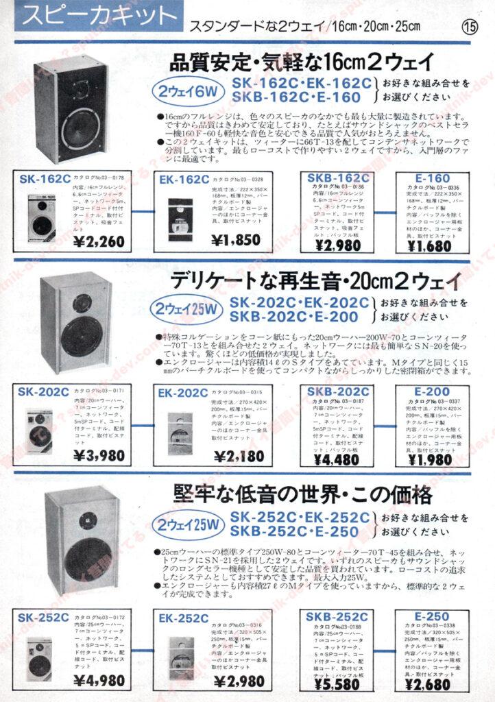 KENY・SOUND SHACK/ケニー・サウンドシャックカタログ・15ページ目