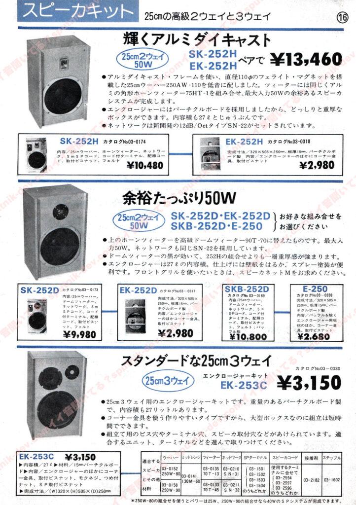 KENY・SOUND SHACK/ケニー・サウンドシャックカタログ・16ページ目