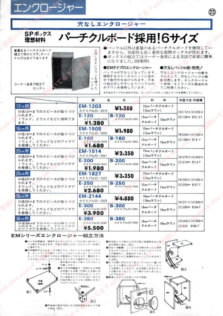 KENY・SOUND SHACK/ケニー・サウンドシャックカタログ・23ページ目