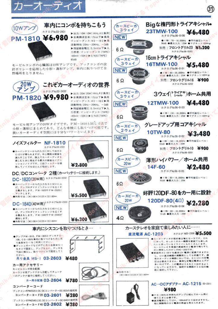 KENY・SOUND SHACK/ケニー・サウンドシャックカタログ・31ページ目