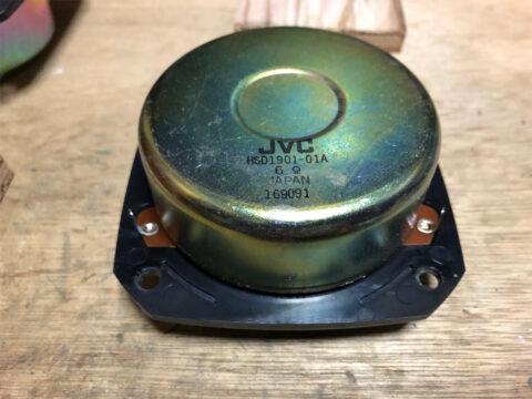 Victor/ビクター・ZERO-10Fの2.5cmハードドームツイーター2