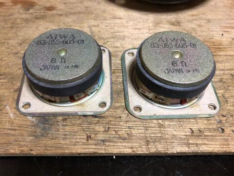AIWA/アイワ・SC-E80、ツイーター・その2