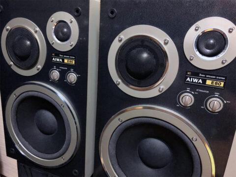 AIWA/アイワ・SC-E80、レストア完了2
