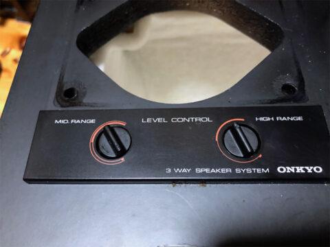 ONKYO/オンキヨー・M77、アッテネーター修正1